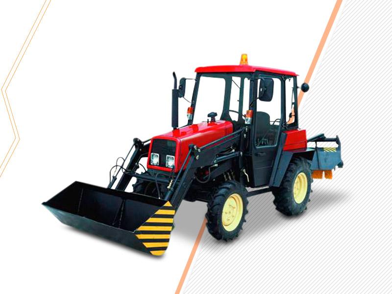 Трактор-щетка МТЗ-320
